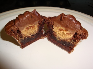 1-Brownie Peanut Butter Cups
